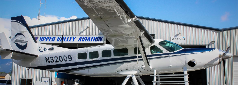 Cessna 208 Caravan on Amphibs Paint