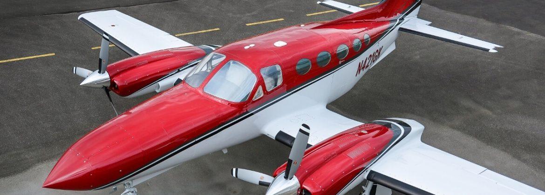 Cessna 421C Paint plus Structural Repairs