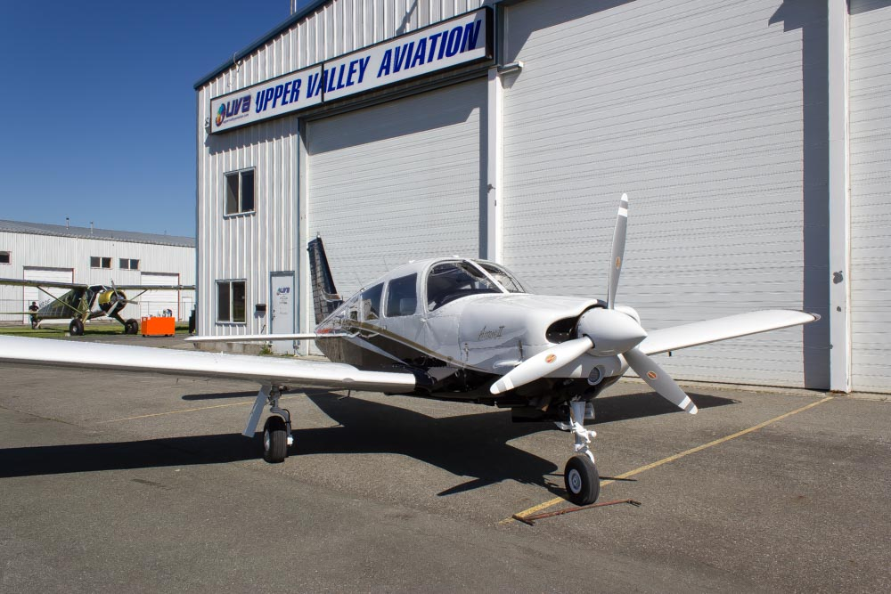 Piper PA-28R-200 Arrow Full Restoration Paint and Interior