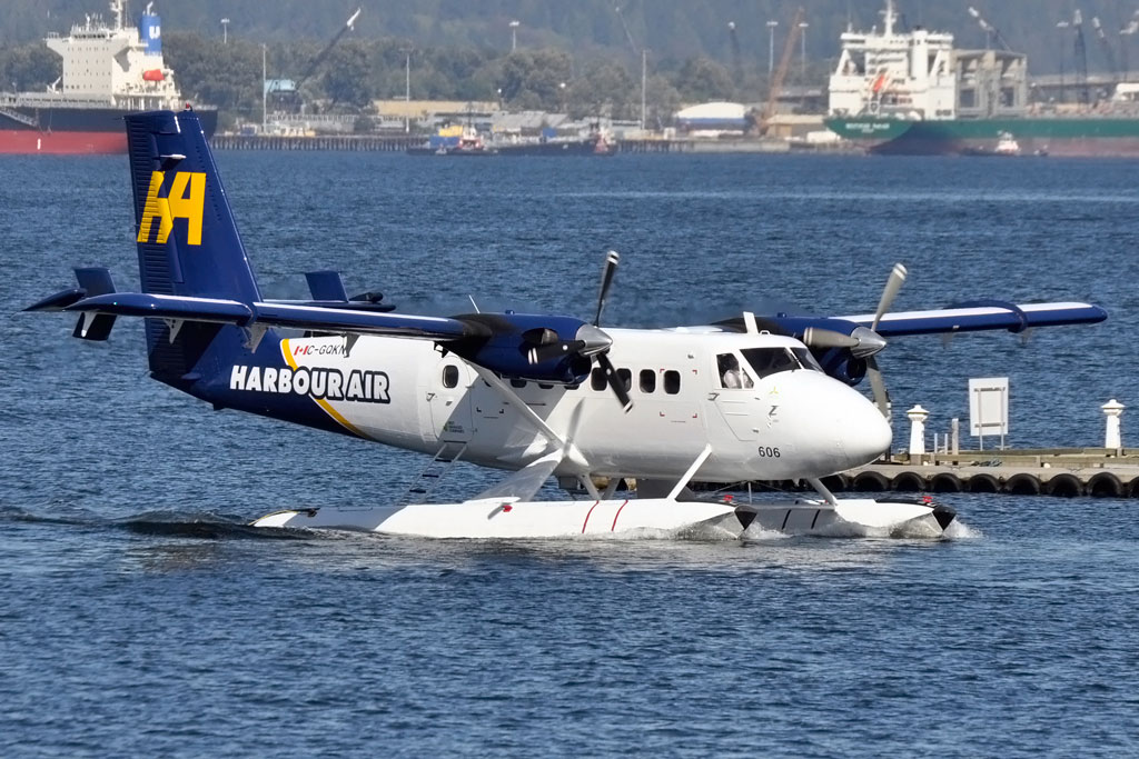 Twin Otter DHC-6 Paint for Harbour Air